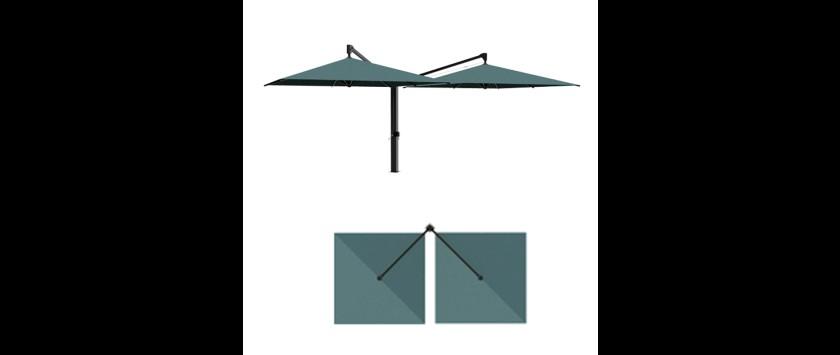 Caravita Sonnenschirm Amalfi Duo 2 Hier Online Kaufen Sparen