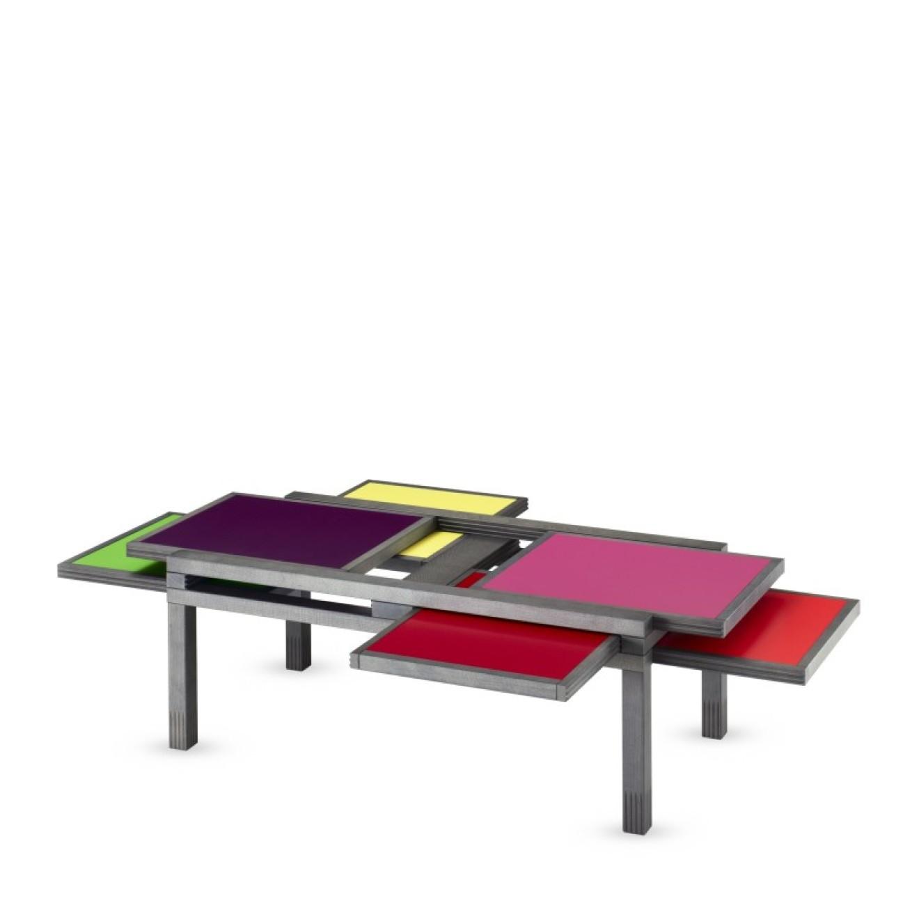 beistelltisch hexa color. Black Bedroom Furniture Sets. Home Design Ideas