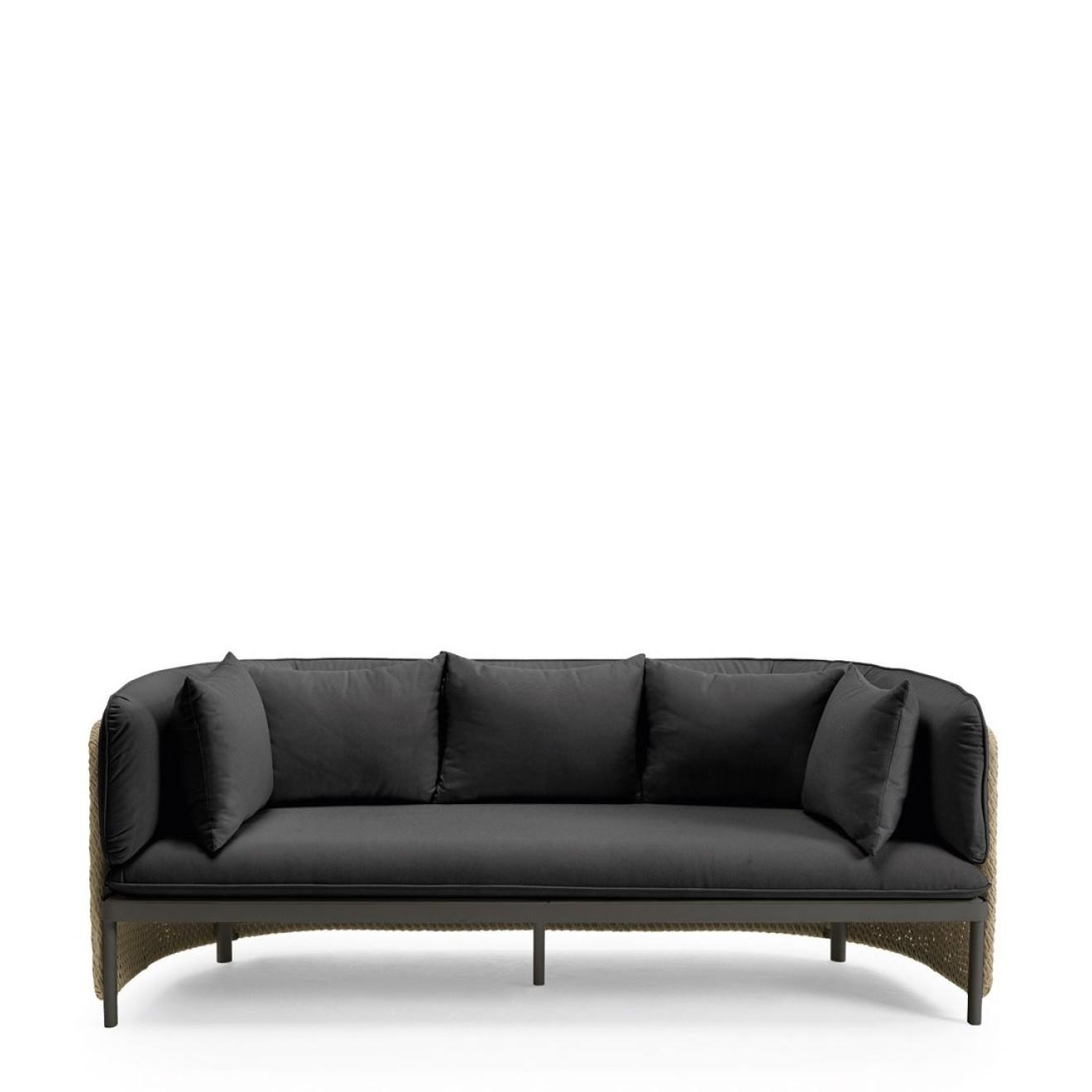 Unglaublich 3 Sitzer Couch Dekoration Von 3-sitzer Sofa Esedra