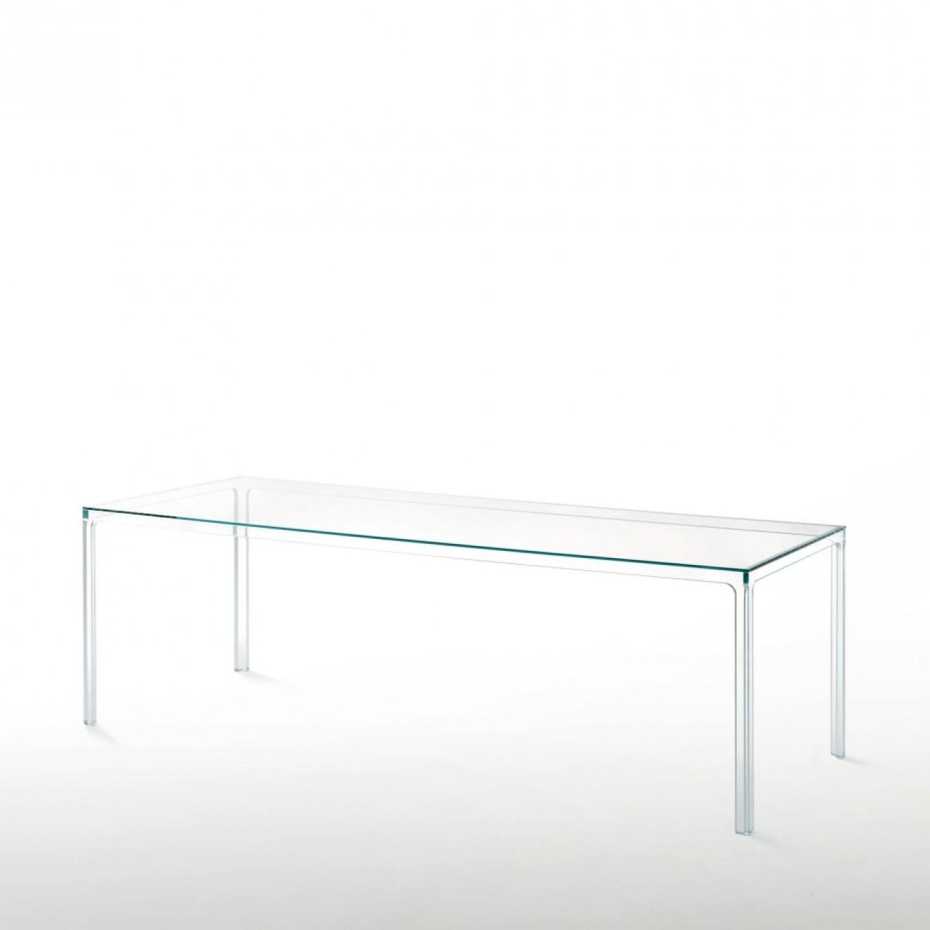Glas italia for Glas beistelltisch rechteckig