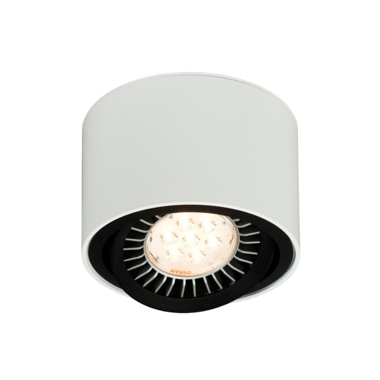 aufbaustrahler 111er rund led mawa design bei home light. Black Bedroom Furniture Sets. Home Design Ideas