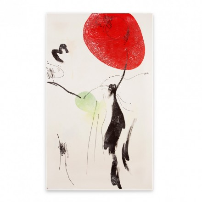 Gemälde Soleil Rouge