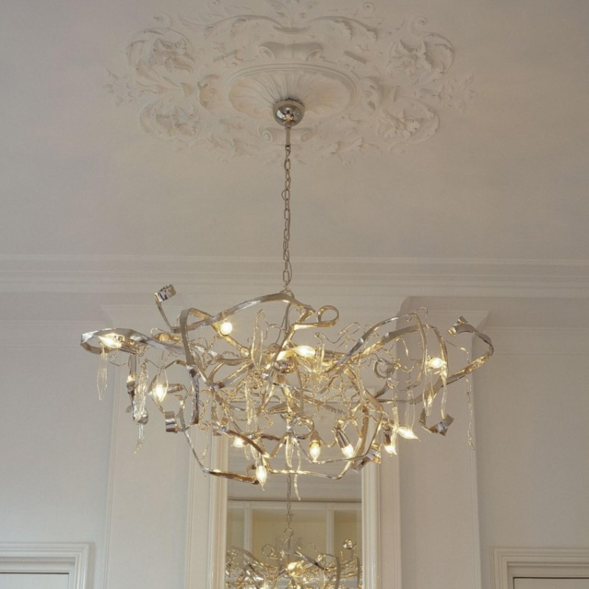 Kronleuchter DELPHINIUM oval Brand van Egmond bei Home amp Light
