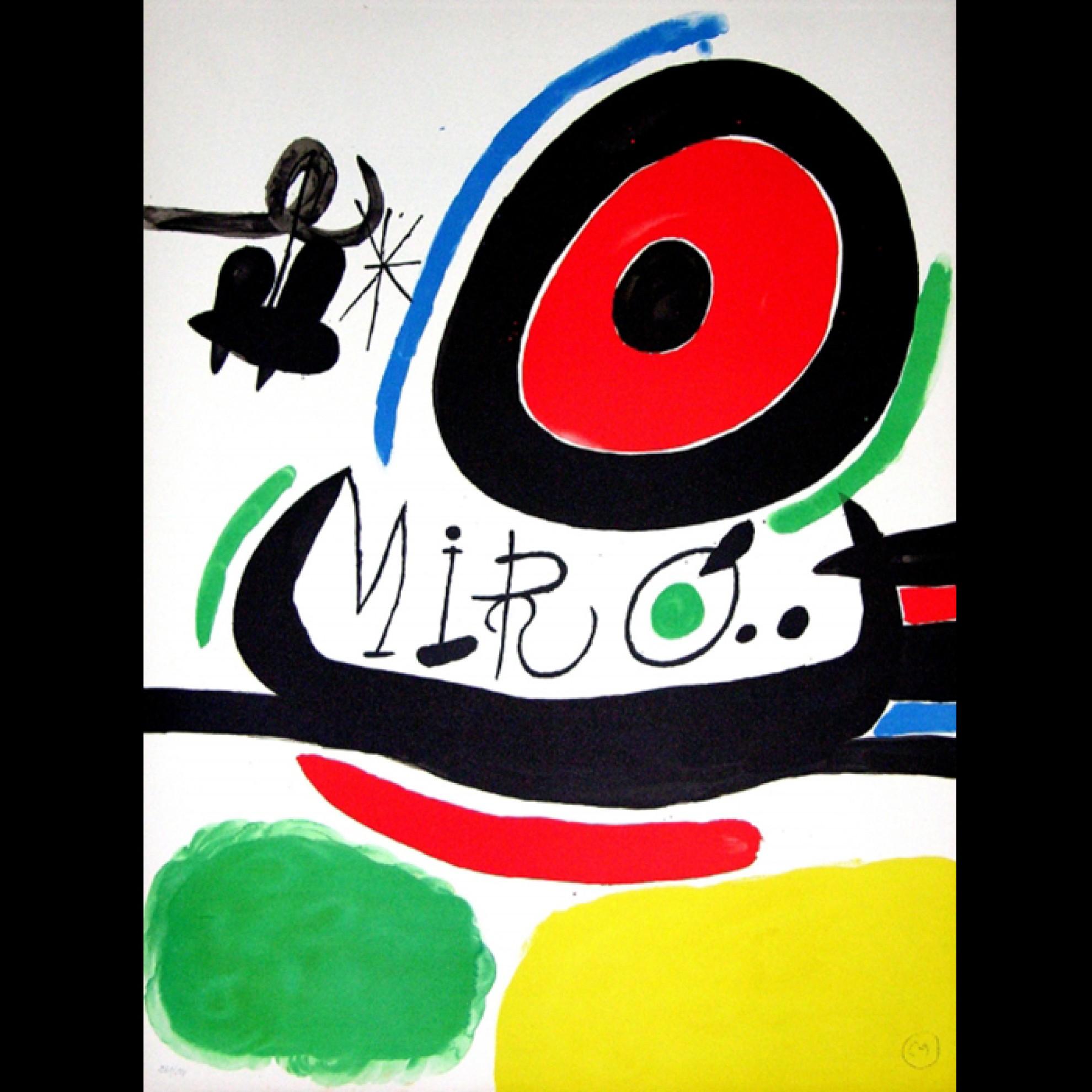 Lithographie TRES LLIBRES von Joan Miro` Home & Light - bei Home ...